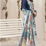 RENEE by Tawakkal Unstitched 3pc Embroidered Lawn Suit d-1453B