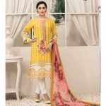 RENEE by Tawakkal Unstitched 3pc Embroidered Lawn Suit d-1456B