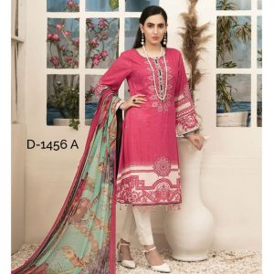 RENEE by Tawakkal Unstitched 3pc Embroidered Lawn Suit d-1456A