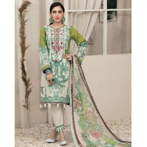 RENEE by Tawakkal Unstitched 3pc Embroidered Lawn Suit d-1453A