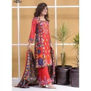 Satrangi by Mysoori Unstitched 3pc Embroidered Lawn Suit d-01A
