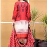 Satrangi by Mysoori Unstitched 3pc Embroidered Lawn Suit d-02A