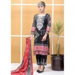 Satrangi by Mysoori Unstitched 3pc Embroidered Lawn Suit d-03A
