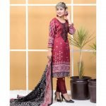 Satrangi by Mysoori Unstitched 3pc Embroidered Lawn Suit d-03B