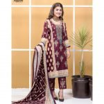 Satrangi by Mysoori Unstitched 3pc Embroidered Lawn Suit d-04B