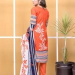 Satrangi by Mysoori Unstitched 3pc Embroidered Lawn Suit d-05B