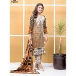 Satrangi by Mysoori Unstitched 3pc Embroidered Lawn Suit d-07A