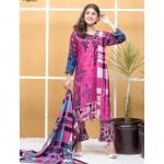 Satrangi by Mysoori Unstitched 3pc Embroidered Lawn Suit d-07B