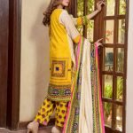 Satrangi by Mysoori Unstitched 3pc Embroidered Lawn Suit d-08A