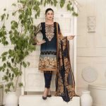 AVYANNA by Tawakkal Unstitched 3pc Embroidered Lawn Suit d-1541A