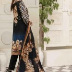 AVYANNA by Tawakkal Unstitched 3pc Embroidered Lawn Suit d-1541B