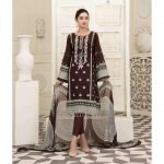 AVYANNA by Tawakkal Unstitched 3pc Embroidered Lawn Suit d-1542B