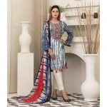 AVYANNA by Tawakkal Unstitched 3pc Embroidered Lawn Suit d-1543A
