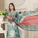 AVYANNA by Tawakkal Unstitched 3pc Embroidered Lawn Suit d-1543B