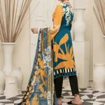 AVYANNA by Tawakkal Unstitched 3pc Embroidered Lawn Suit d-1546A