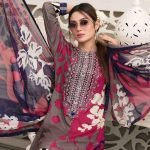 AVYANNA by Tawakkal Unstitched 3pc Embroidered Lawn Suit d-1546B