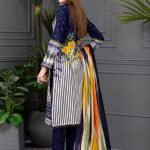 Rang Reza Summer Special by Z.S 3pc Unstitched Printed Lawn Suit d-01