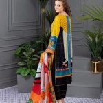 Rang Reza Summer Special by Z.S 3pc Unstitched Printed Lawn Suit d-06