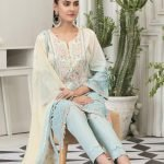 Raqami by Tawakkal Unstitched 3pc Embroidered Lawn Suit d-1605