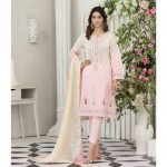 Raqami by Tawakkal Unstitched 3pc Embroidered Lawn Suit d-1606