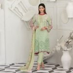 Raqami by Tawakkal Unstitched 3pc Embroidered Lawn Suit d-1607