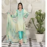 Raqami by Tawakkal Unstitched 3pc Embroidered Lawn Suit d-1608
