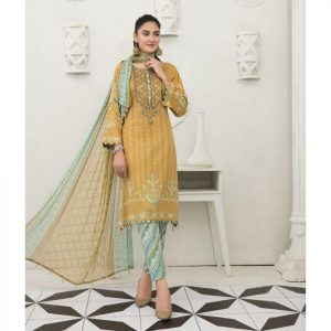 Raqami by Tawakkal Unstitched 3pc Embroidered Lawn Suit d-1611