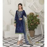 Raqami by Tawakkal Unstitched 3pc Embroidered Lawn Suit d-1615