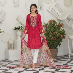 Raqami by Tawakkal Unstitched 3pc Embroidered Lawn Suit d-1616