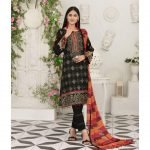 Raqami by Tawakkal Unstitched 3pc Embroidered Lawn Suit d-1618