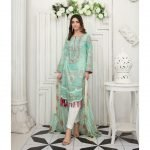 Raqami by Tawakkal Unstitched 3pc Embroidered Lawn Suit d-1620