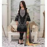 Summer Medley by Tawakkal Unstitched 3pc Embroidered Lawn Suit d-1471A