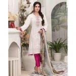 Summer Medley by Tawakkal Unstitched 3pc Embroidered Lawn Suit d-1474A