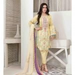 Summer Medley by Tawakkal Unstitched 3pc Embroidered Lawn Suit d-1475A
