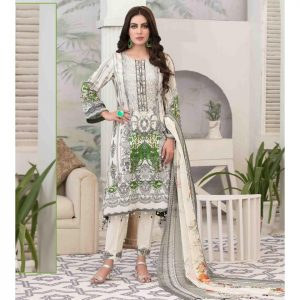 Summer Medley by Tawakkal Unstitched 3pc Embroidered Lawn Suit d-1476A