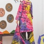 Khass by Mizaaj Unstitched 3pc Tie and Dye Embroidered Lawn Suit d-01
