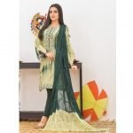 Khass by Mizaaj Unstitched 3pc Tie and Dye Embroidered Lawn Suit d-08