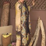 Mariam Ayesha Unstitched 3pc Printed Cambric Suit d-01B