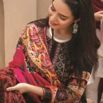 Mariam Ayesha Unstitched 3pc Printed Cambric Suit d-02B