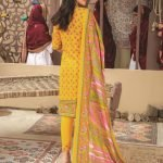 Mariam Ayesha Unstitched 3pc Printed Cambric Suit d-03A