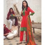 Mariam Ayesha Unstitched 3pc Printed Cambric Suit d-03B