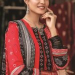 Mariam Ayesha Unstitched 3pc Printed Cambric Suit d-05A