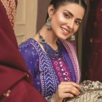 Mariam Ayesha Unstitched 3pc Printed Cambric Suit d-05B