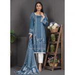Rang Reza Mid Summer by Z.S 3pc Unstitched Printed Cotton Suit d-02