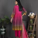 Rang Reza Mid Summer by Z.S 3pc Unstitched Printed Cotton Suit d-06