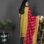 Rang Reza Mid Summer by Z.S 3pc Unstitched Printed Cotton Suit d-09